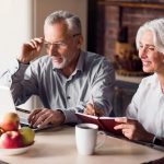 older couple does research